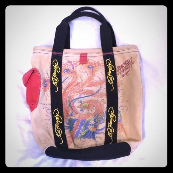32b603910680 ed hardy laptop bag or backpack ed hardy laptop bag or book bag ed ...